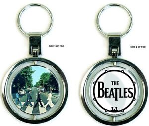 Beatles Abbey Road Spinner metal / enamel keyring (ro)